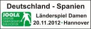 Deutschland vs. Spanien in Hannover-Misburg